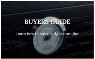 5 Step Guide to Choosing a Humidor