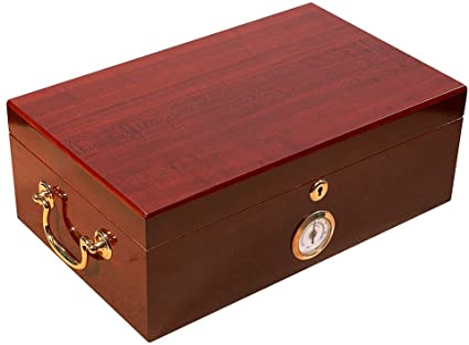JFK Humidor by Quality Importers - 70 Cigar ct