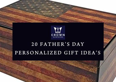 20 Personalized Father's Day Cigar Humidor's Gift Ideas