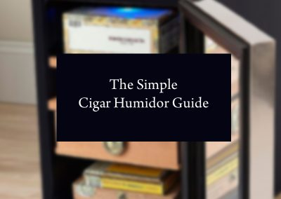 The Simple Cigar Humidor Guide