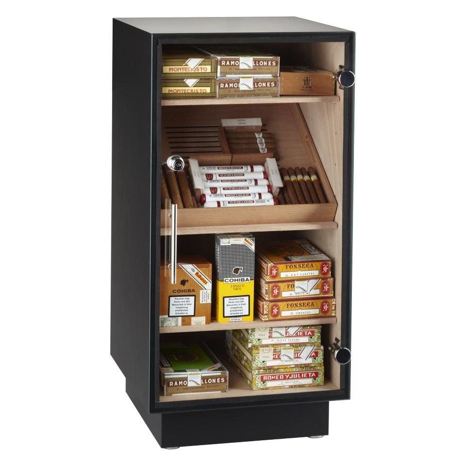 Adorini Prato Glass Top - Deluxe cabinet humidor
