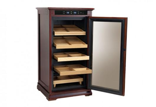 Redford Climate/Humidity-Controlled Cabinet Humidor by Prestige Import Group