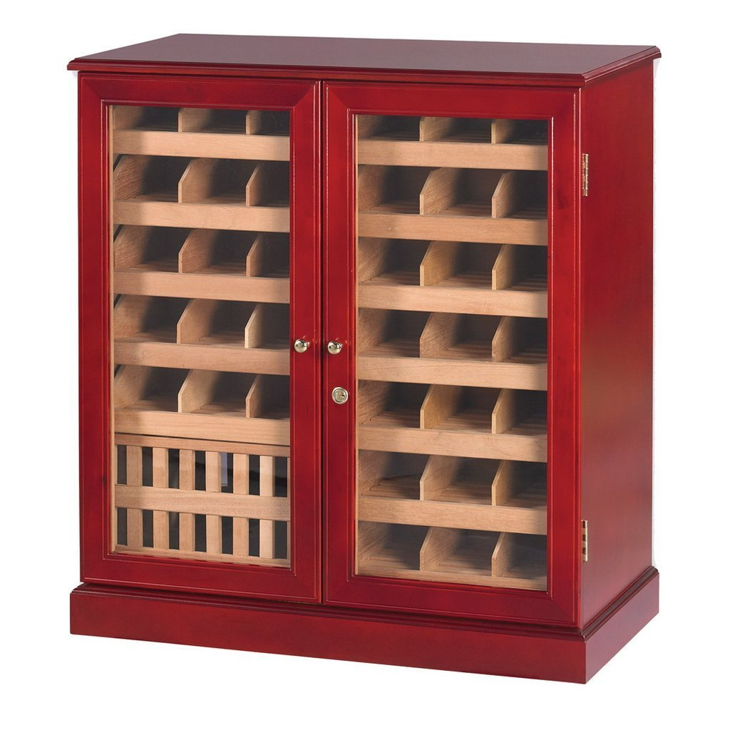 The Bundle Bin Commercial 3000 Wall Cabinet Humidor By Quality Importers