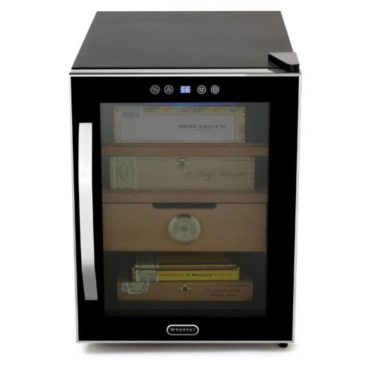Whynter Elite Touch Control Stainless 1.2cu.ft. Cigar Cooler