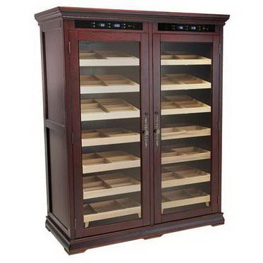 Reagan 4000 Electric Cabinet humidor by Prestige Import Group