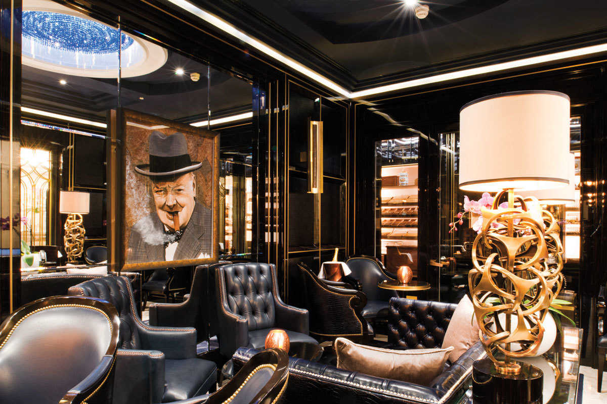 The Ten Best Cigar Lounges In London