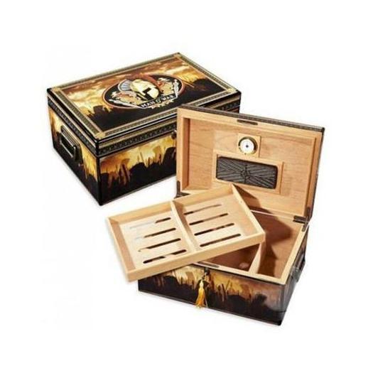 Man O War Branded Humidor Box