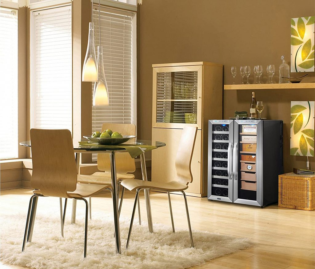 Whynter Wine Cooler and Cigar Humidor Center