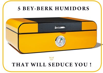These 5 Bey-Berk Humidors will seduce you!