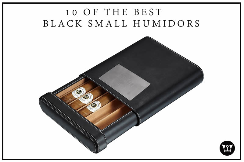 10 of the best Black SMALL Humidors