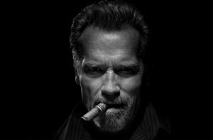 Schwarzenegger on how to smoke cigars