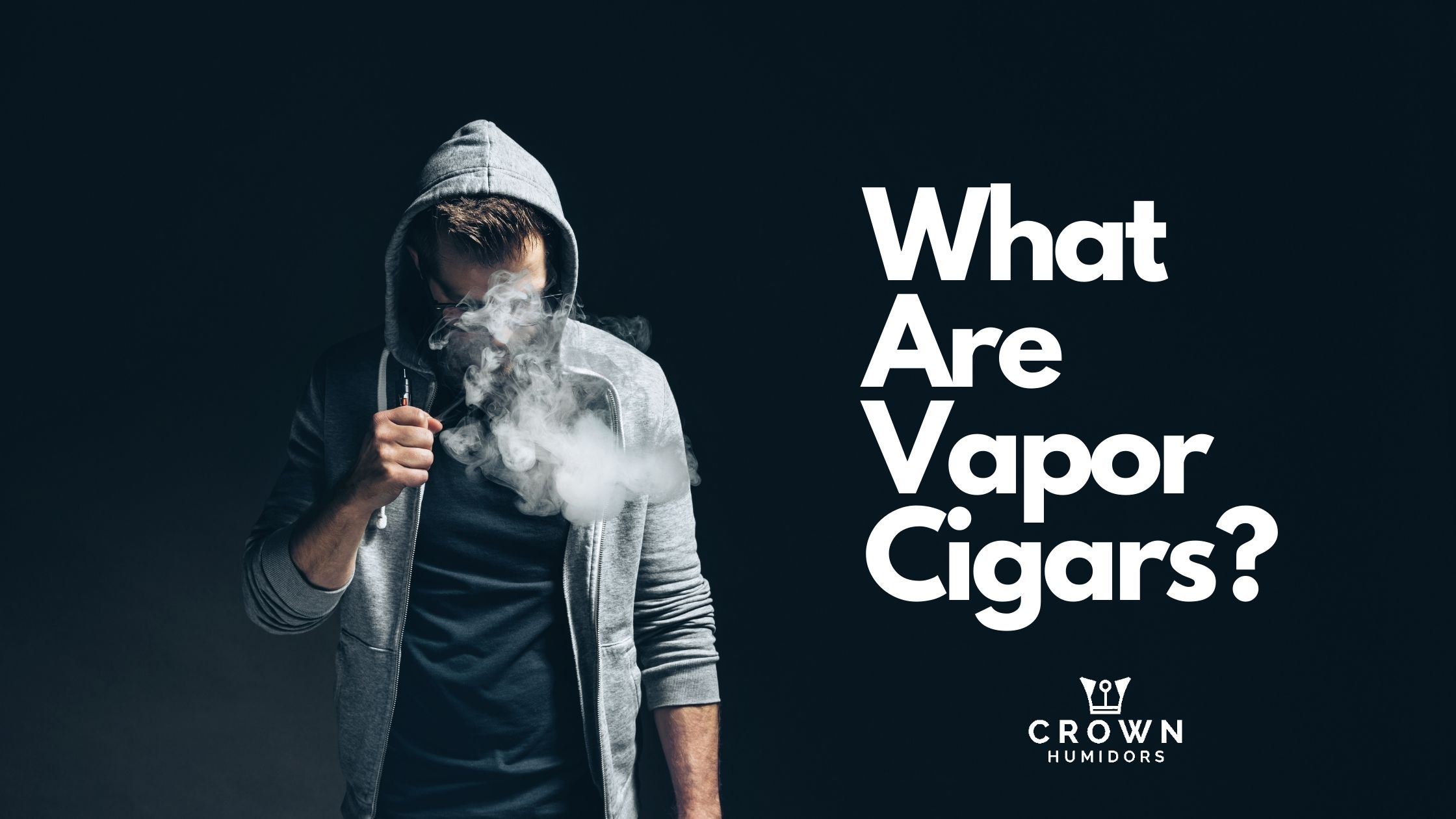 WHAT ARE VAPOR CIGARS?