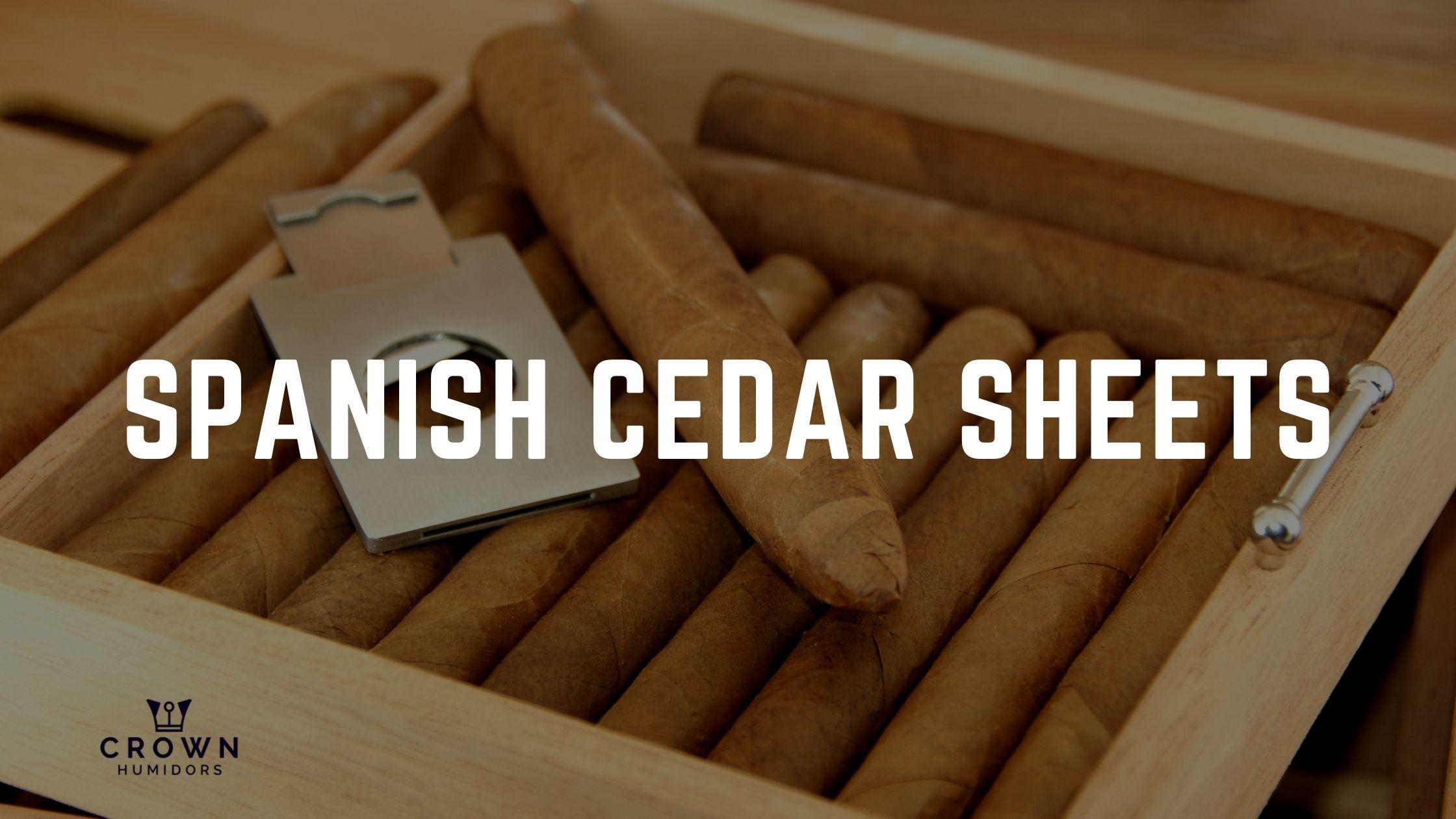 SPANISH CEDAR SHEETS
