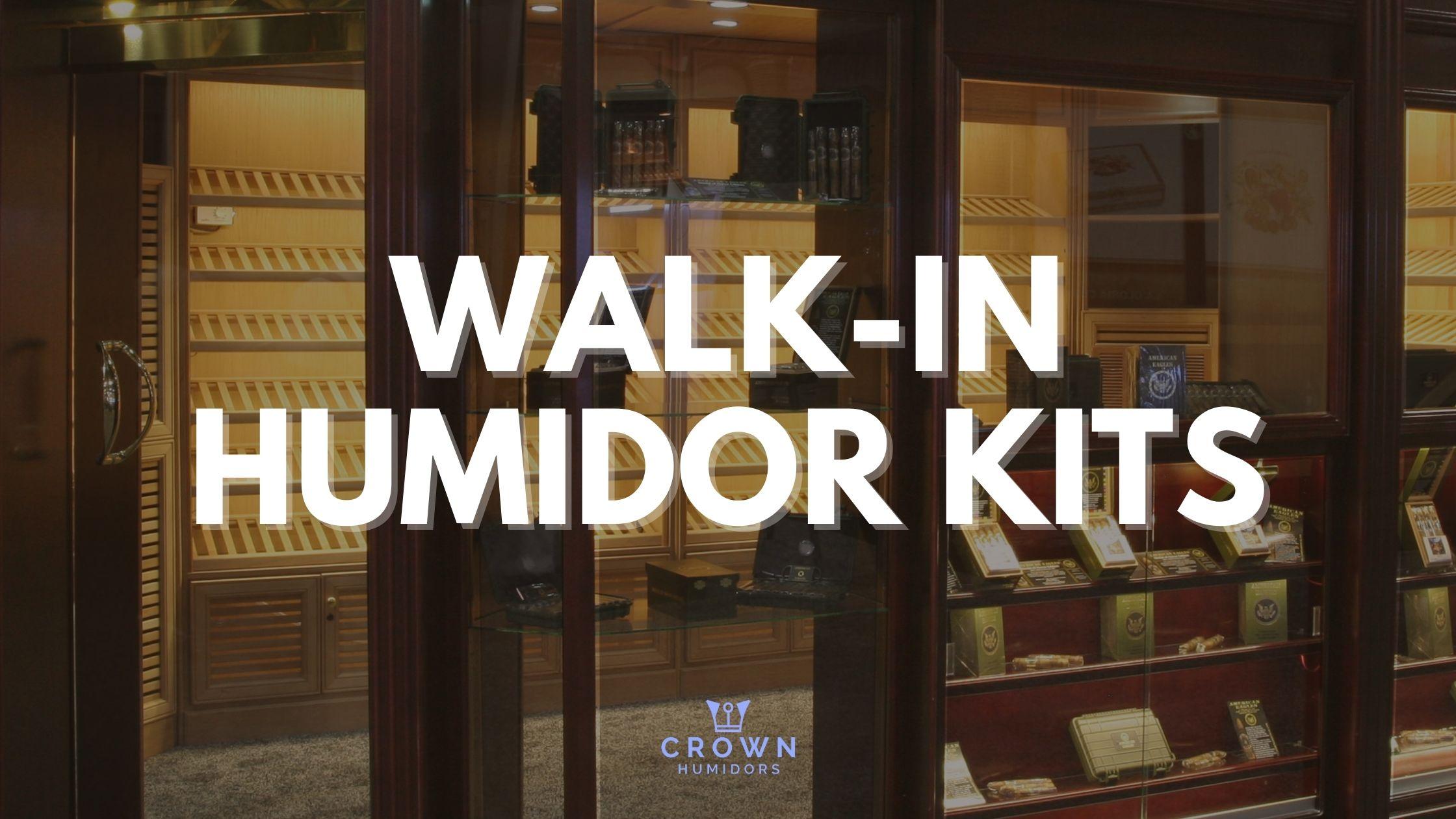 WALK-IN HUMIDOR KITS.